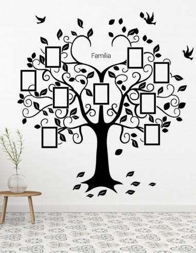 Adesivo de Parede Decorativo Árvore...