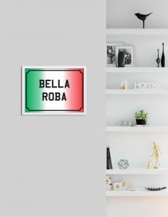 """Placa Decorativa """"Bella..."""